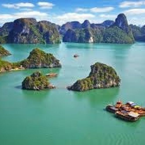 Halong Bay, North Vietnam, where the proposed 2016 Vietnam history trip will conclude.