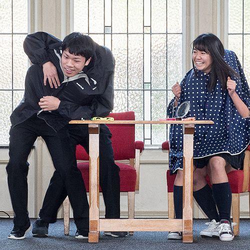 Ichikawa High School Farewell - Skit Performance - John McGlashan College Chapel