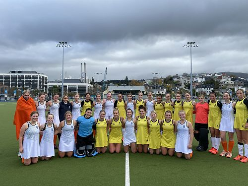 Columba and STAC First XI Hockey come together after their close encounter