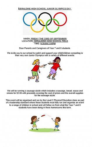 Junior Olympics Day