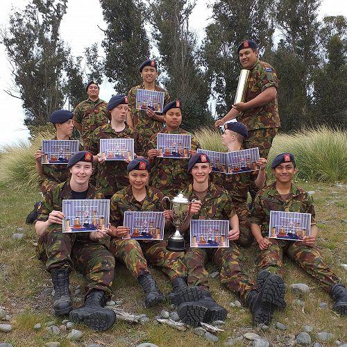 Ashburton Cadet Unit Skills Team