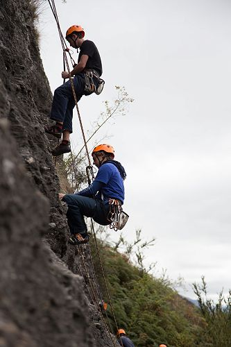 Yr 13 Outdoor Ed Wanaka Climbing Camp