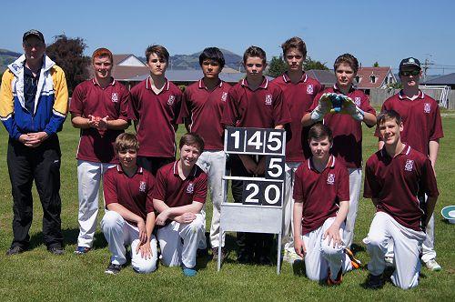 Logan Park Wins 20/20 Colts Cricket Tournament