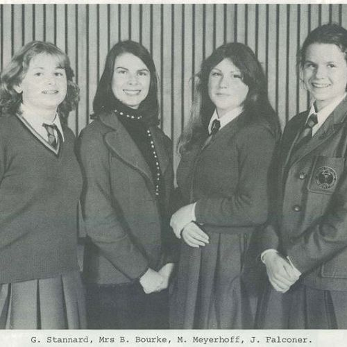 Photo from the 1980 Reporter magazine