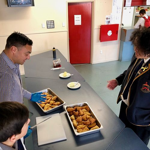 Māori fry bread - a new addition to language week - and delicious!