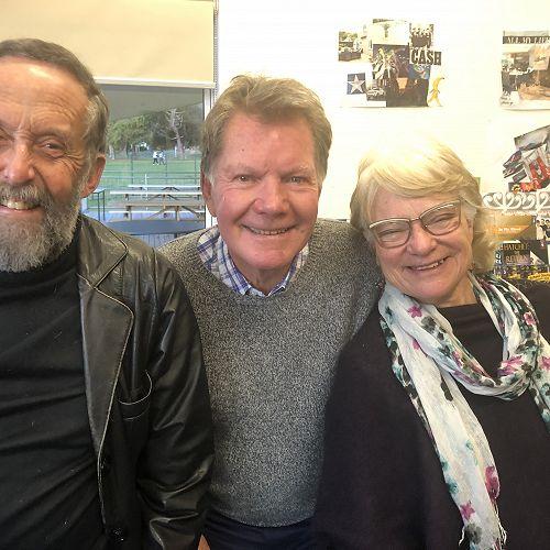 Allan Goldsmith, Ross Kirkwood, Sue Goldsmith