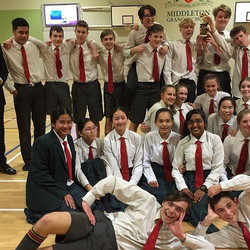 Year 10 Dance Competition Winners - 10LA