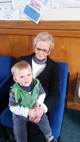 Arlie and Nan at Playgroup