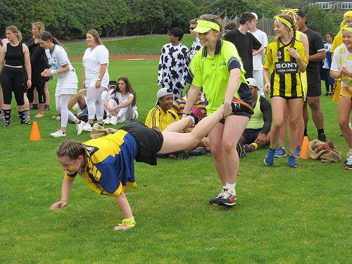 Bodkin members in novelties Athletics day 2017
