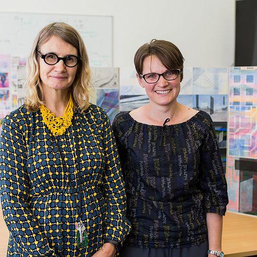Teacher Brenda Nightingale with Frederike