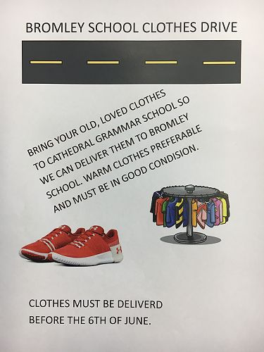 Bromley School Clothes Drive