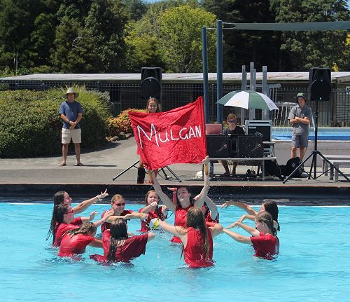 House Synchronized Swimming Competition