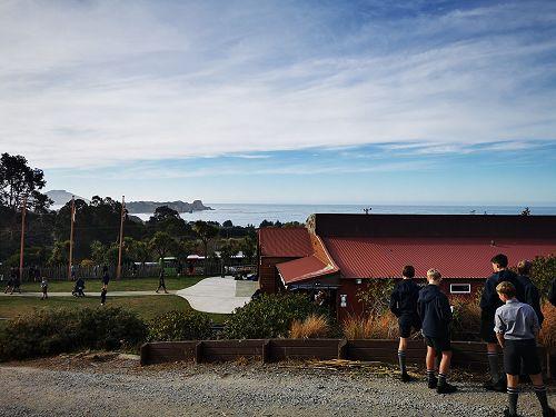 Year 9 Social Studies visit to Puketeraki Marae