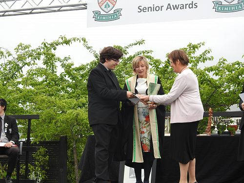 Mario Cvetkoski - Ist place overall in year 12