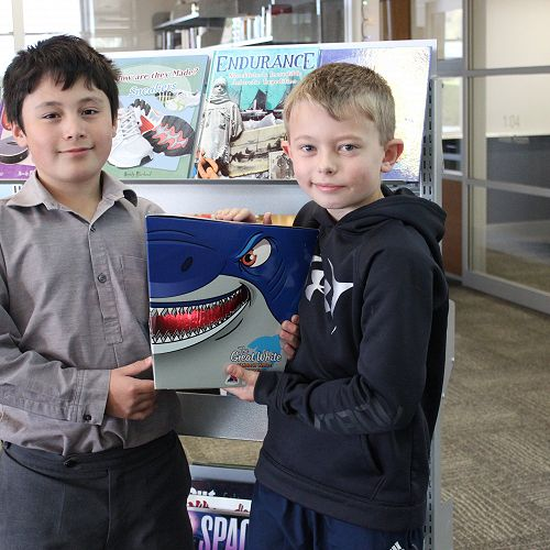 Library Week - QuickFireQuiz won by Clever Readers