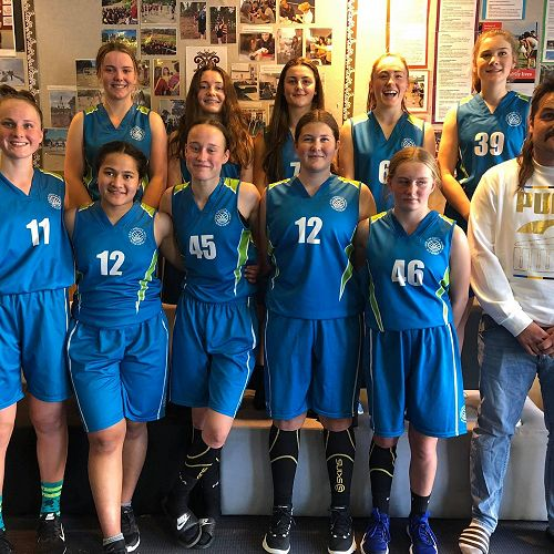 Senior Girls Basketball Team - Christchurch Tournament