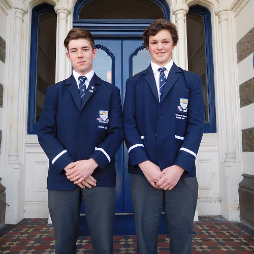 Olly Higgins and Todd Bezett