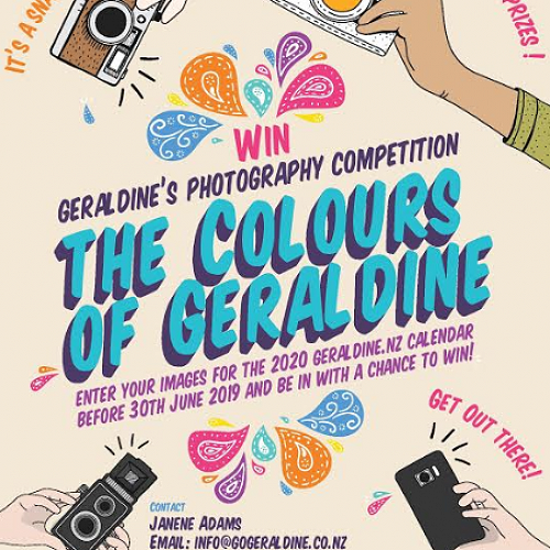 The Colours of Geraldine - Geraldine's Photography Competition