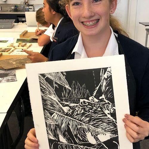 Niamh Cunningham, Year 11 Art