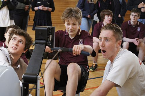 Interhouse Indoor Rowing