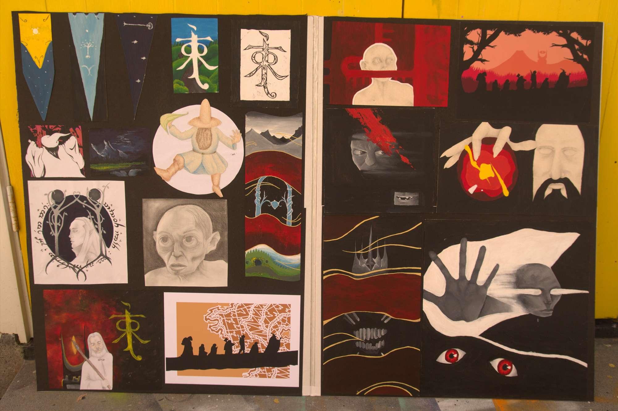 Schkelia Rich - NCEA Level 1 Art portfolio