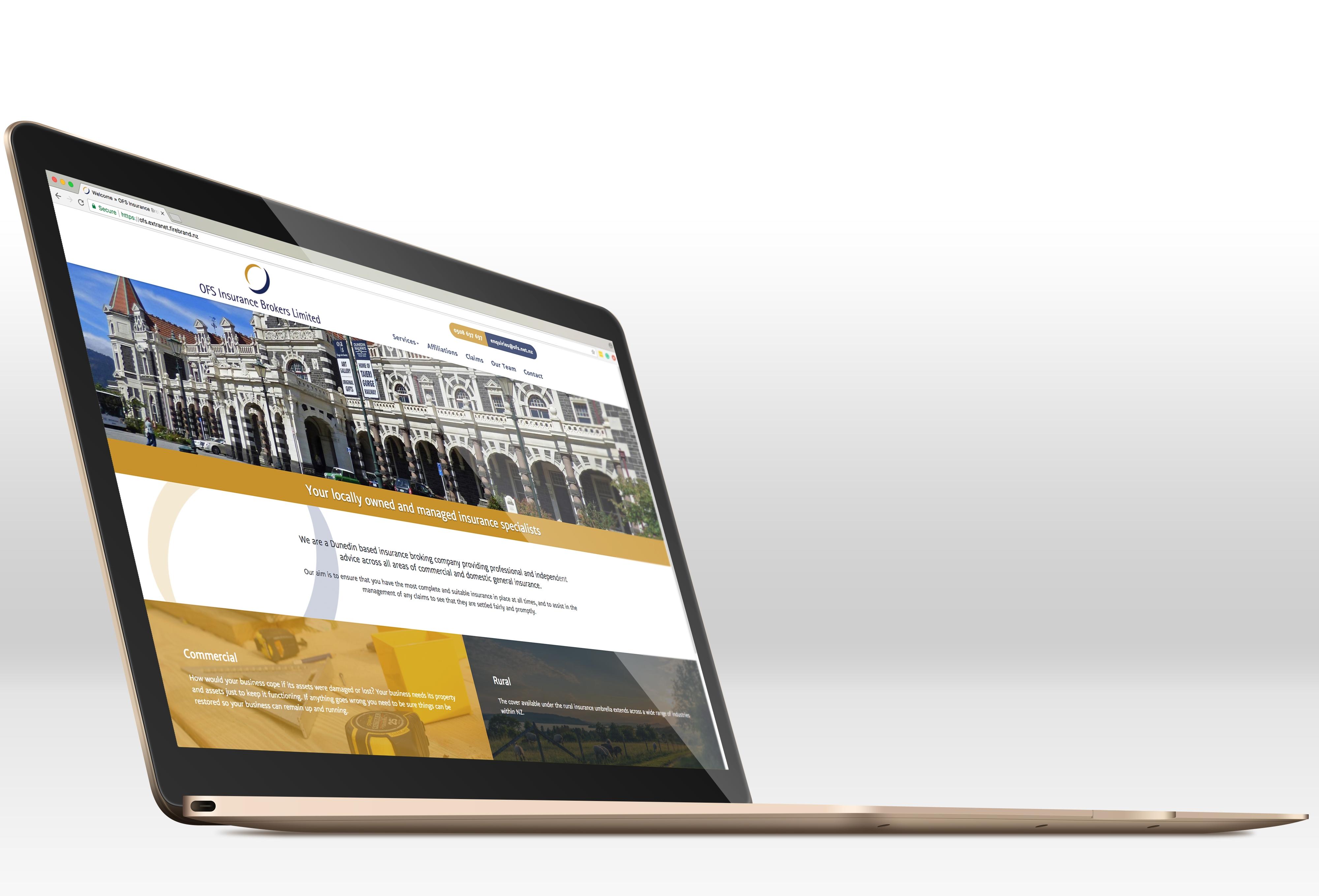 OFS Insurance website