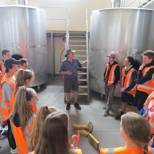 Founder and owner of Mount Difficulty Winery, Robin Dicey, explains the processes involved in producing red and white wine...