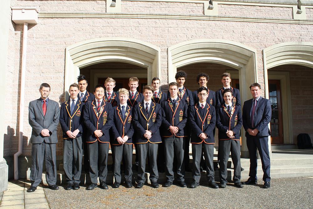 Fifteen Year 13 boys have won prestigious university scholarships for 2016.
