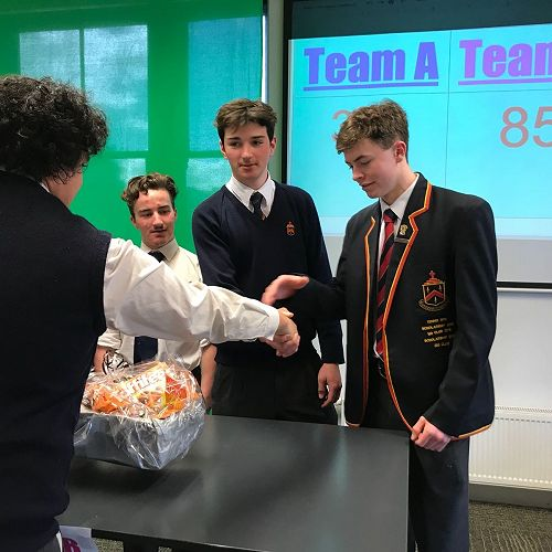 Congratulations to the second placed team!