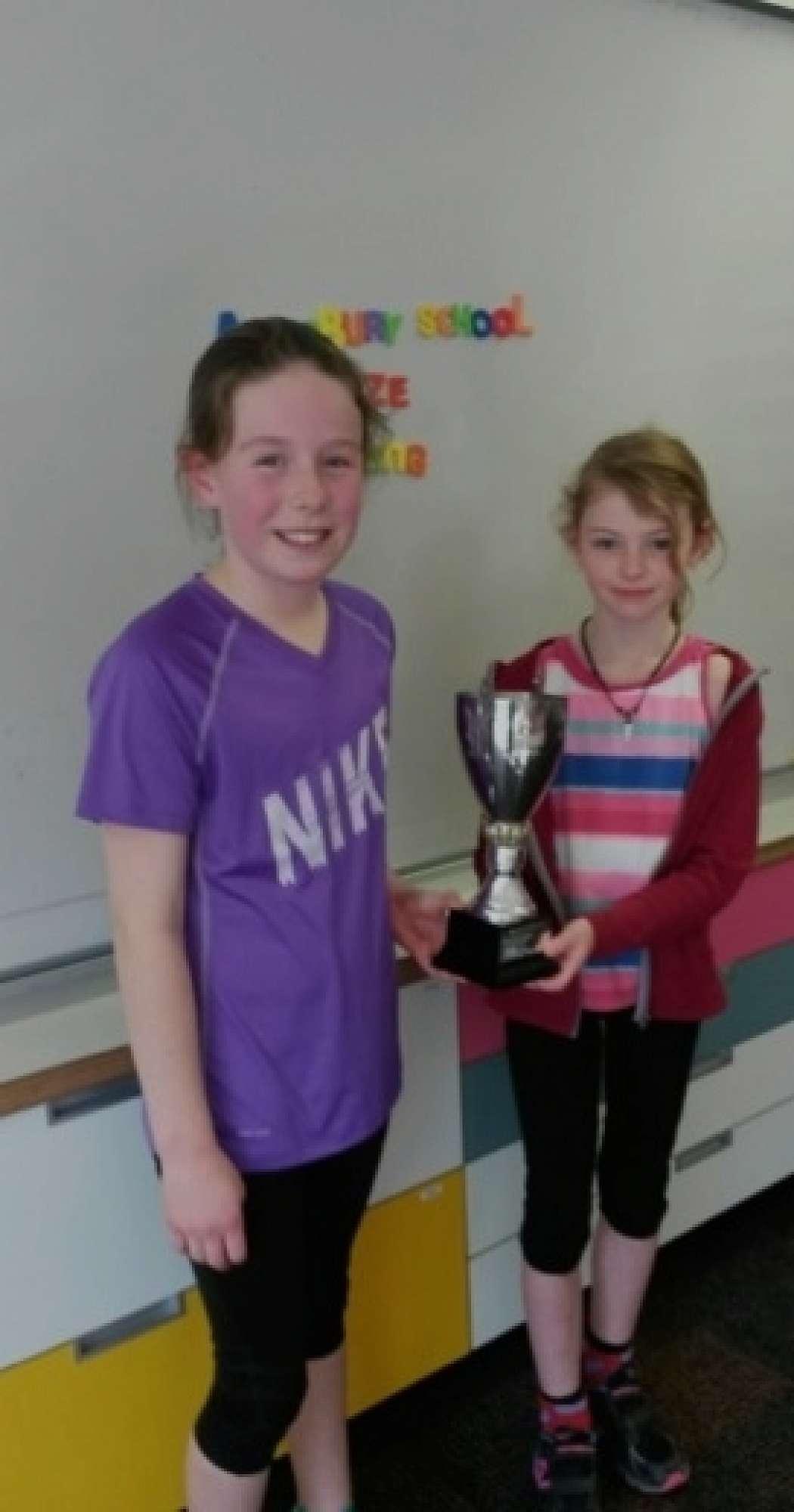 Hannah Dunbar and Maddie Thomas - 2015 MVP's