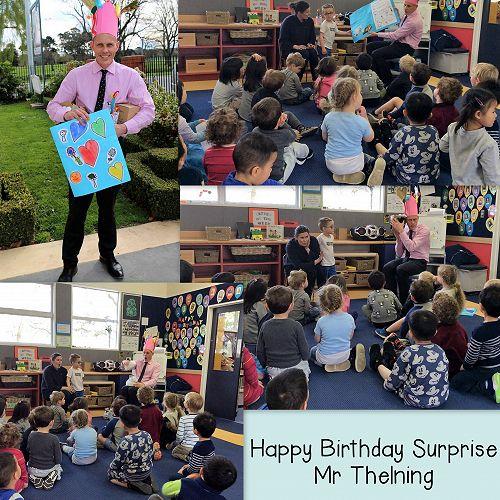 Mr Thelning's Birthday Party