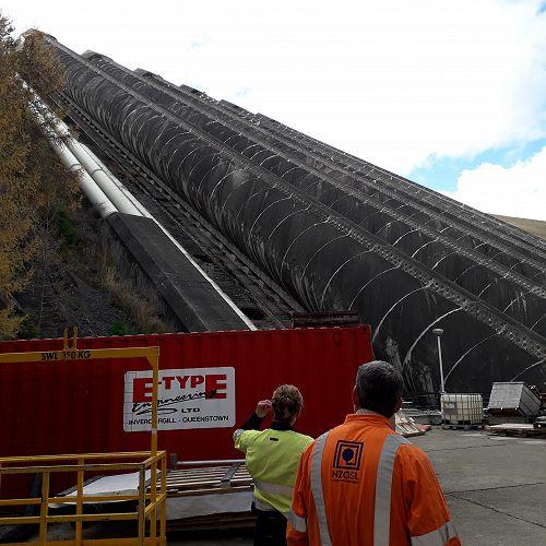 Touring Benmore Power Station - Penstock Tubes