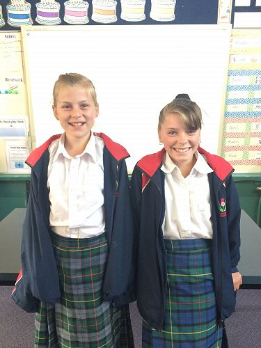 MacKenzie and Karli - Class Councillor and Deputy