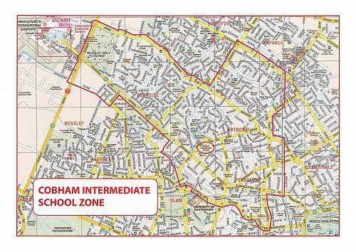 Cobham School Zone