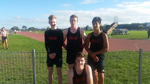 The Boys SISS Athletics Relay Team