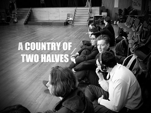 'A Country of Two Halves' - Young & Hungry Arts Tr