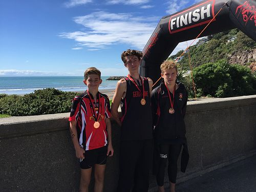 Canterbury Triathlon Boys Team