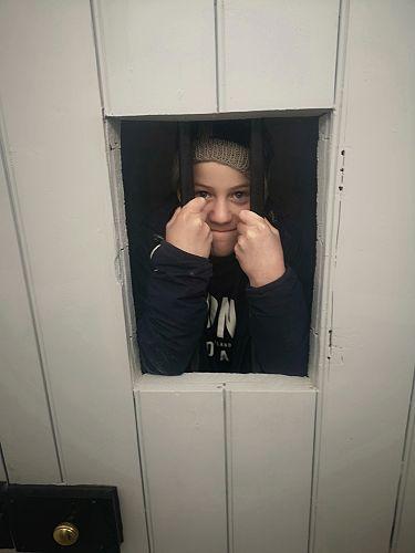 Zac Brooking in Gaol