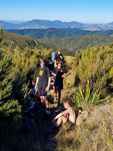13Outdoor Education - Silver Peaks Trip