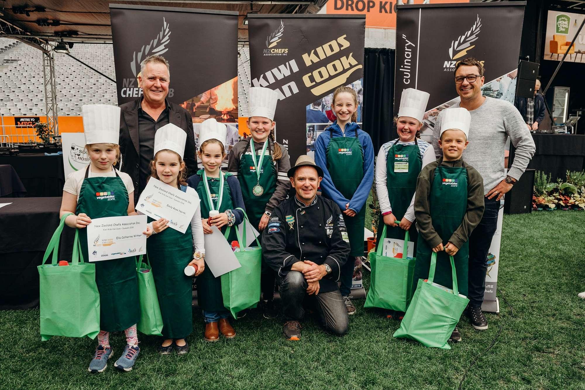 Kiwi Kids Can Cook