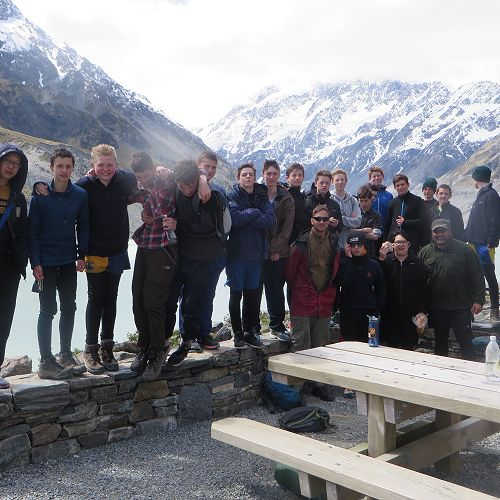 Year 10 camp - a challenge our international students rise to every year!