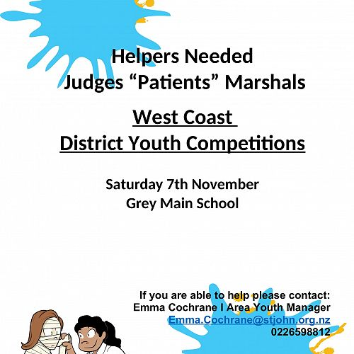 St John Youth Competitions