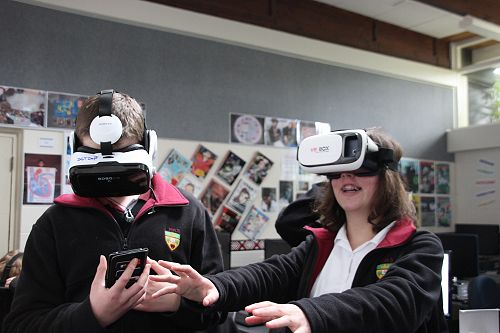 VR Experience for Digital Technology Students