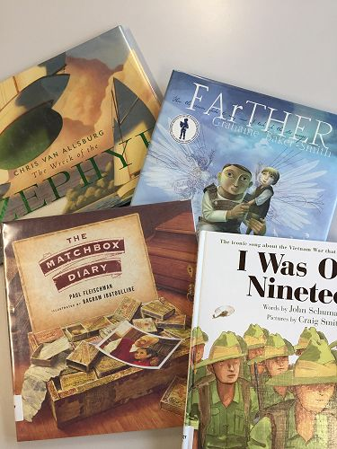 Some of the sophisticated picture books