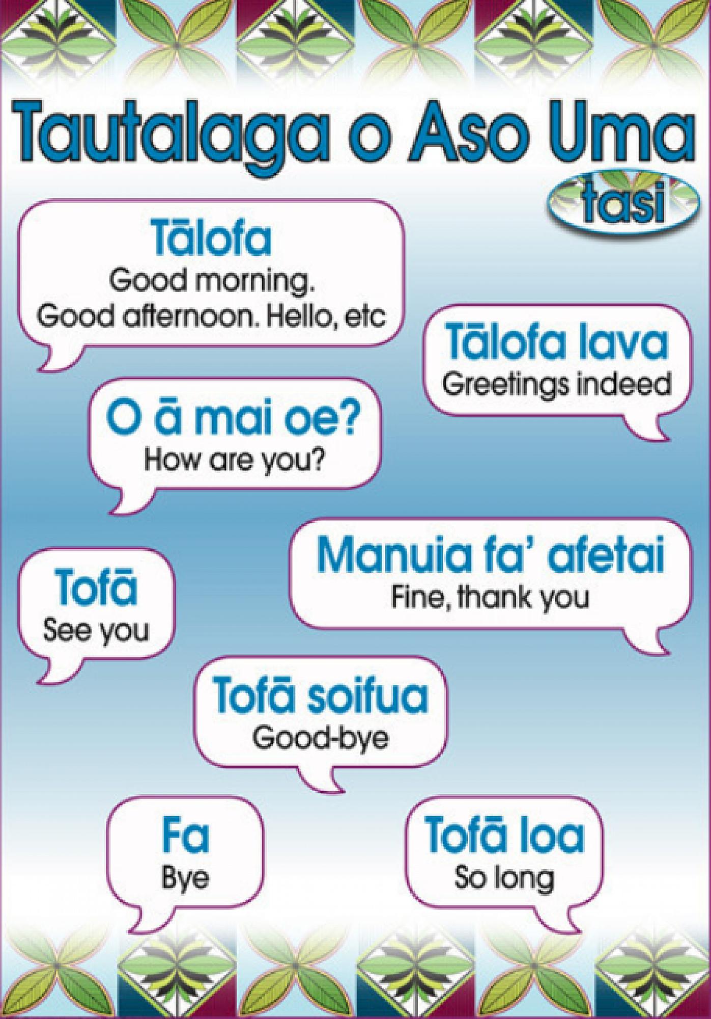 Samoan language week 27 may to 2 june 2018 samoan language week 27 may 2 june 2018 m4hsunfo