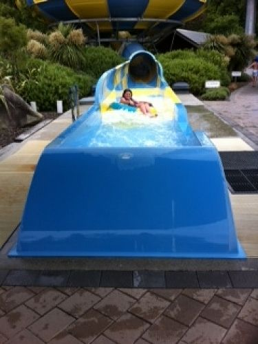 Water Slide at Hanmer