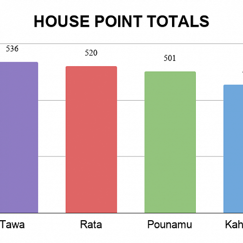 House Points Totals UPDATE 26/06/20