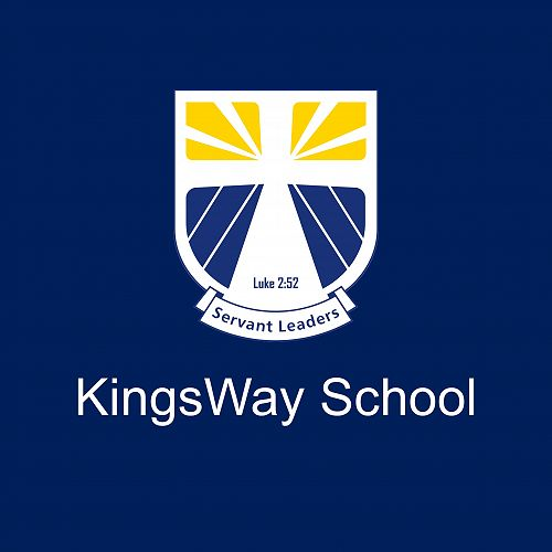 KingsWay Logo on Blue