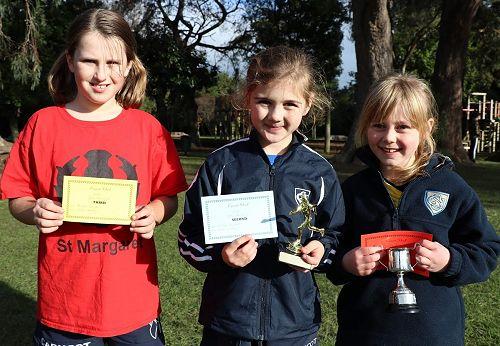 Midget Girls Cross Country Winners