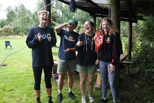 Student Exec camp at Peel Forest Eco Lodge